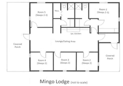 Mingo Lodge Floor plan